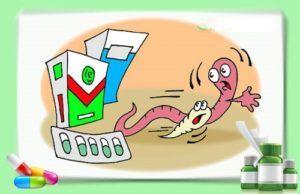 Лечение детей от глистов антипаразитарными препаратами