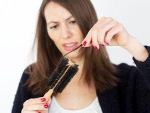 Заметное выпадение волос