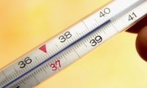 Значительное повышение температуры тела