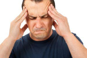 Боль и кружение головы
