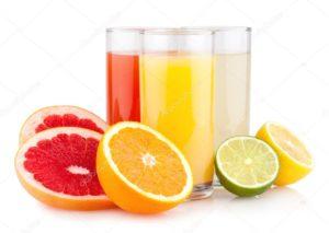 соки цитрусовых