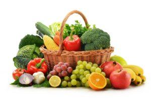 овощей и фруктов