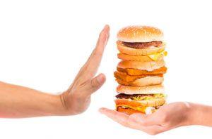 Отказ от вредных продуктов