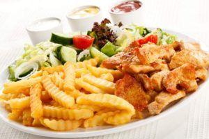 Исключить из меню жирные блюда