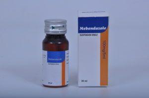 Мебендазол суспензия
