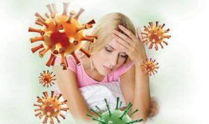 Перенесенные инфекционные и вирусные болезни снижают иммунитет человека