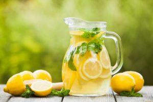 компот с лимоном