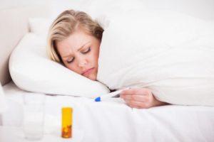 озноб и температура
