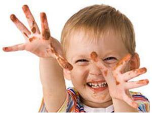 дети не моют руки