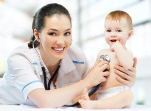 педиатр и ребенок
